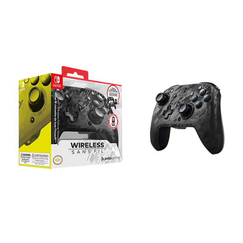 Беспроводной контроллер Faceoff Black Camo  Nintendo Switch  дополнительное изображение 1