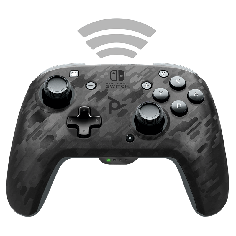 Беспроводной контроллер Faceoff Black Camo  Nintendo Switch  дополнительное изображение 2