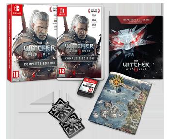 Witcher 3 Wild Hunt [Ведьмак 3: Дикая охота] Полное Издание (Русская версия)(Nintendo Switch)