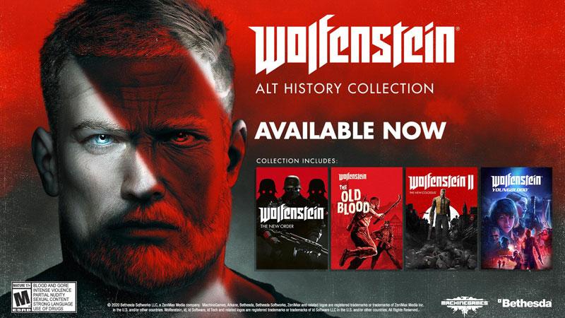 Wolfenstein Alt History Collection  PS4 дополнительное изображение 1