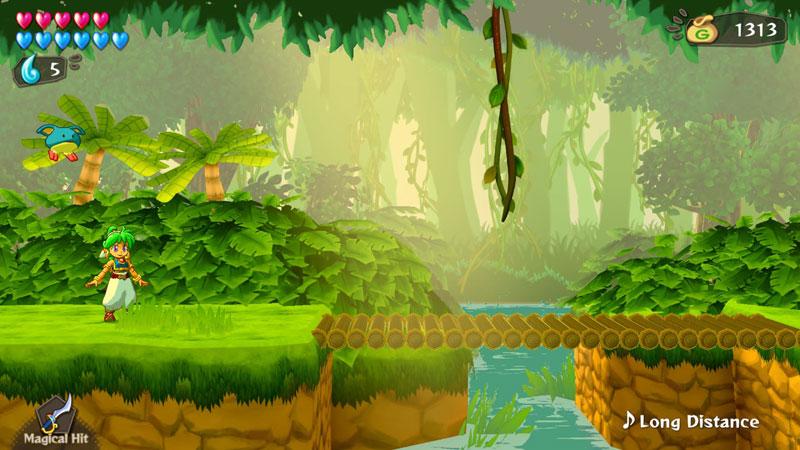 Wonder Boy Asha in Monster World  Nintendo Switch дополнительное изображение 1