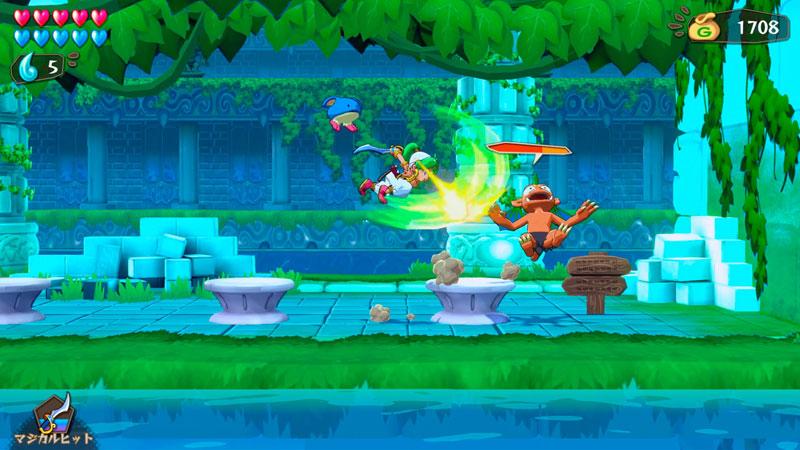 Wonder Boy Asha in Monster World  Nintendo Switch дополнительное изображение 2