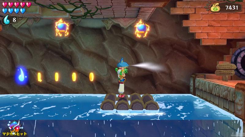 Wonder Boy Asha in Monster World  Nintendo Switch дополнительное изображение 3
