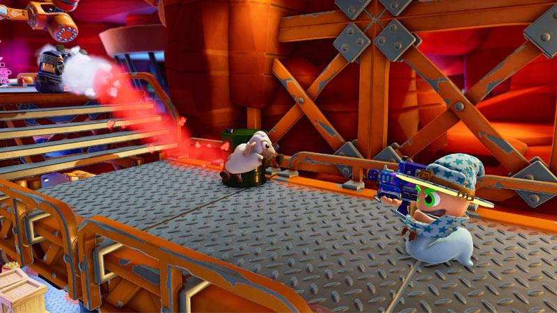 Worms Rumble  PS5 дополнительное изображение 3