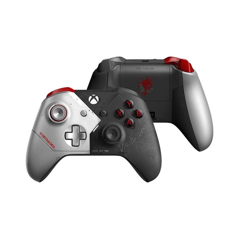Беспроводной джойстик Xbox One Wireless Controller Cyberpunk 2077 Limited Edition дополнительное изображение 1