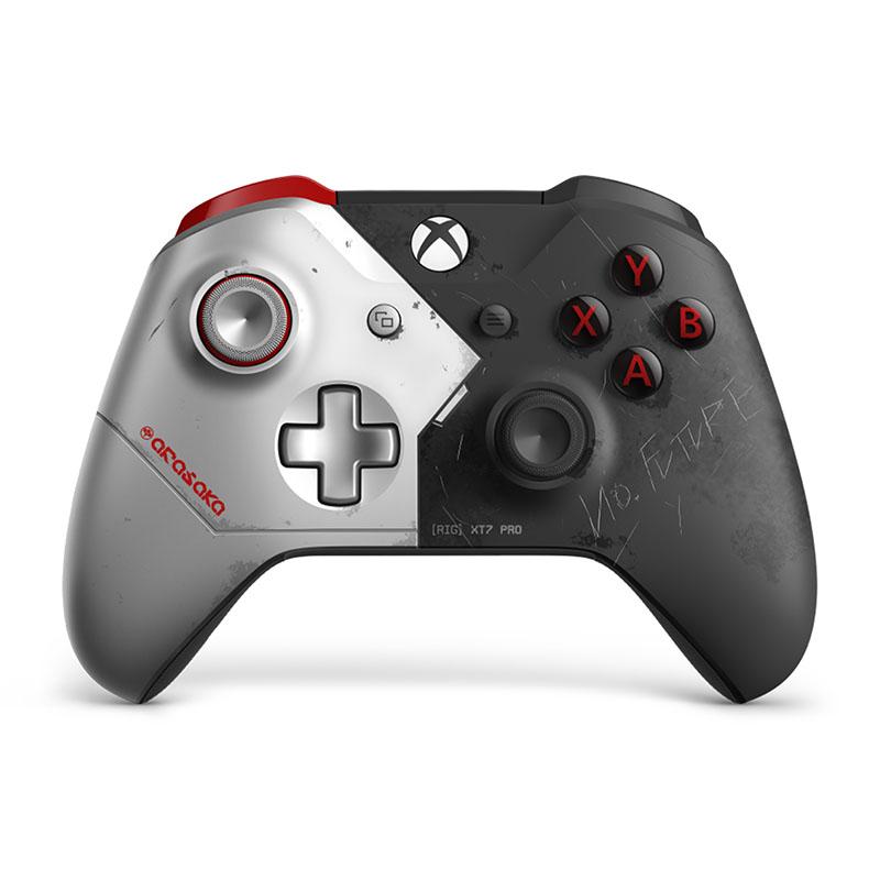 Беспроводной джойстик Xbox One Wireless Controller Cyberpunk 2077 Limited Edition дополнительное изображение 2