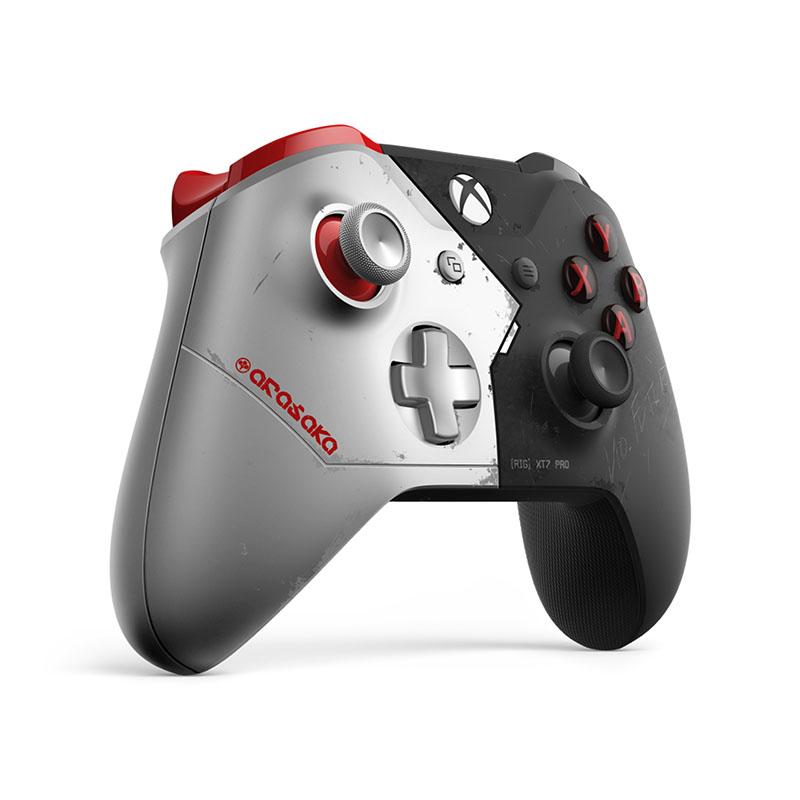 Беспроводной джойстик Xbox One Wireless Controller Cyberpunk 2077 Limited Edition дополнительное изображение 3