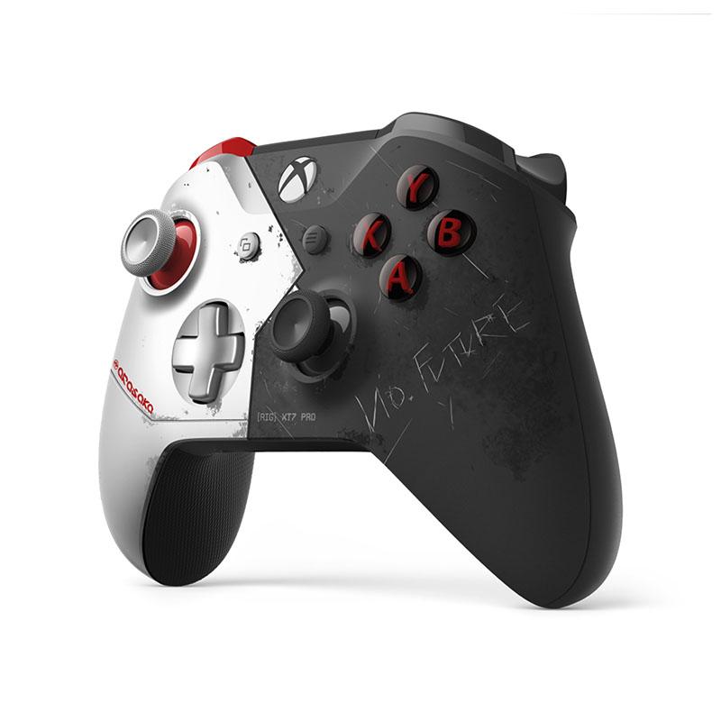 Беспроводной джойстик Xbox One Wireless Controller Cyberpunk 2077 Limited Edition дополнительное изображение 4
