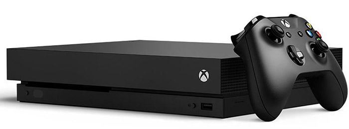 Игровая приставка Microsoft Xbox One X 1Tb Black дополнительное изображение 1