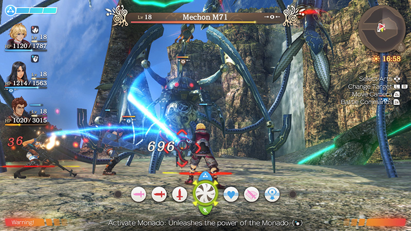 Xenoblade Chronicles Definitive Edition  Nintendo Switch дополнительное изображение 3