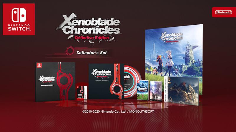 Xenoblade Chronicles Definitive Edition Collectors Edition  Nintendo Switch дополнительное изображение 1
