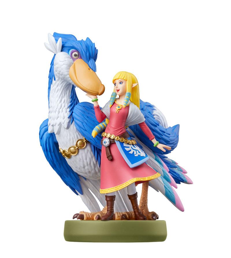 amiibo Zelda & Loftwing  Зельда и Небокрылколлекция The Legend of Zelda  дополнительное изображение 1