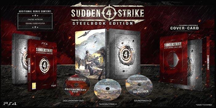 Sudden Strike 4 Steelbook Limited Edition  PS4 дополнительное изображение 1