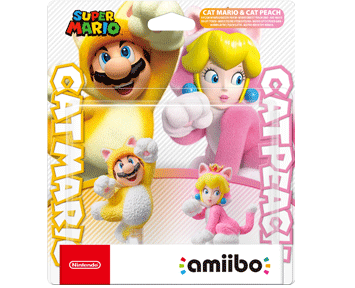 Комплект amiibo Cat Mario и Cat Peach