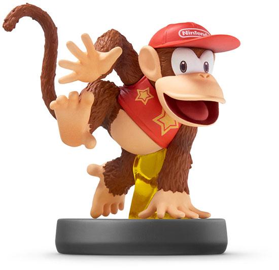 amiibo Diddy Kong Super Smash Bros Коллекция дополнительное изображение 1