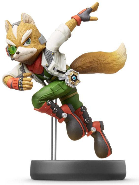 amiibo Fox Super Smash Bros Коллекция дополнительное изображение 1
