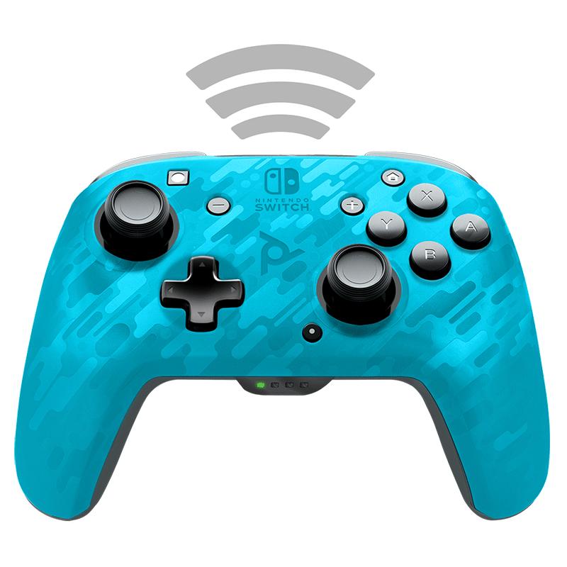 Беспроводной джойстик Faceoff Blue Camo  Nintendo Switch дополнительное изображение 3