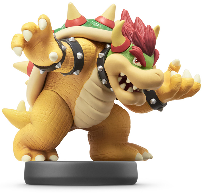amiibo Bowser Super Smash Bros Коллекция дополнительное изображение 1