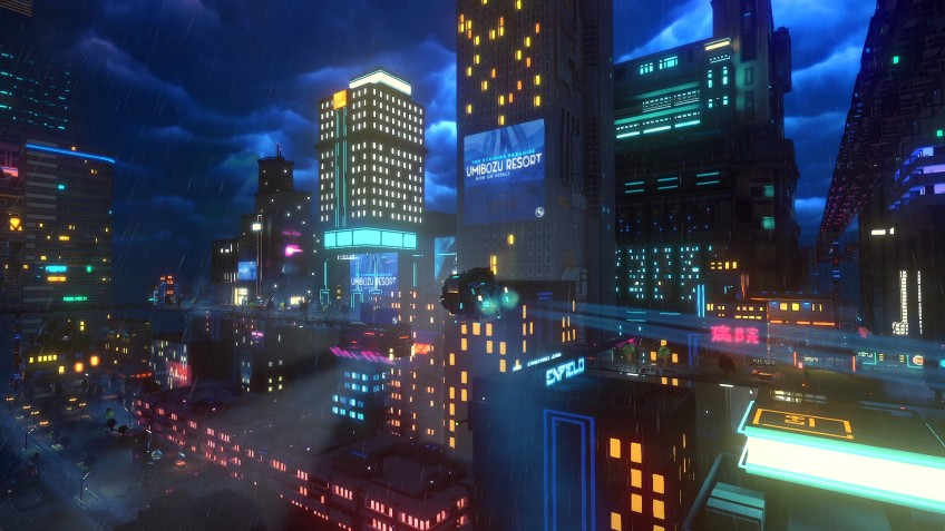 Cloudpunk  PS4 дополнительное изображение 3