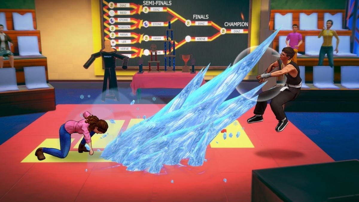 Cobra Kai The Karate Kid Saga Continues  PS4 дополнительное изображение 3