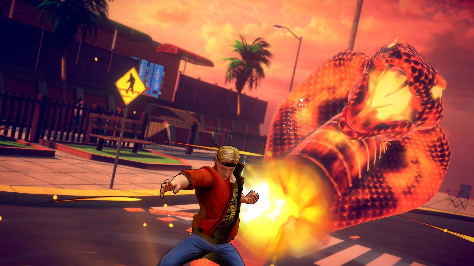 Cobra Kai The Karate Kid Saga Continues  PS4 дополнительное изображение 4