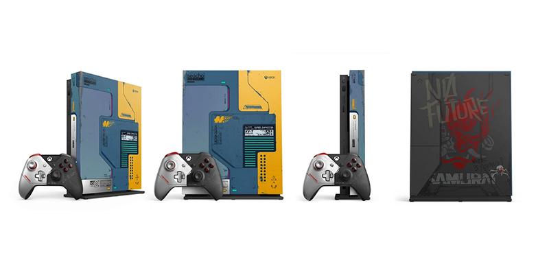 Xbox One X 1TB Cyberpunk 2077 Limited Edition  дополнительное изображение 2
