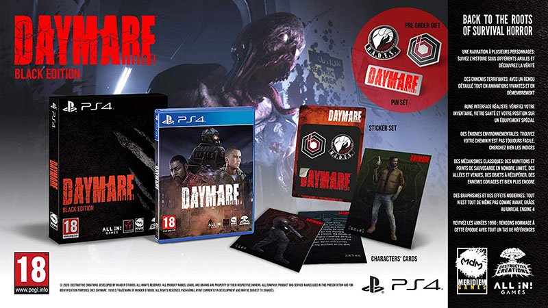 Daymare 1998 - Black Edition  PS4  дополнительное изображение 1