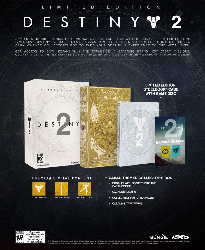 Destiny 2 Limited Edition  Xbox One/Series X дополнительное изображение 1