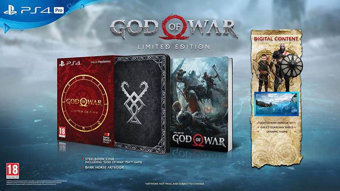 God of War  Limited Edition  PS4 дополнительное изображение 1