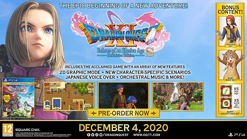 Dragon Quest XI S Echoes Of An Elusive Age - Definitive Edition  PS4  дополнительное изображение 1