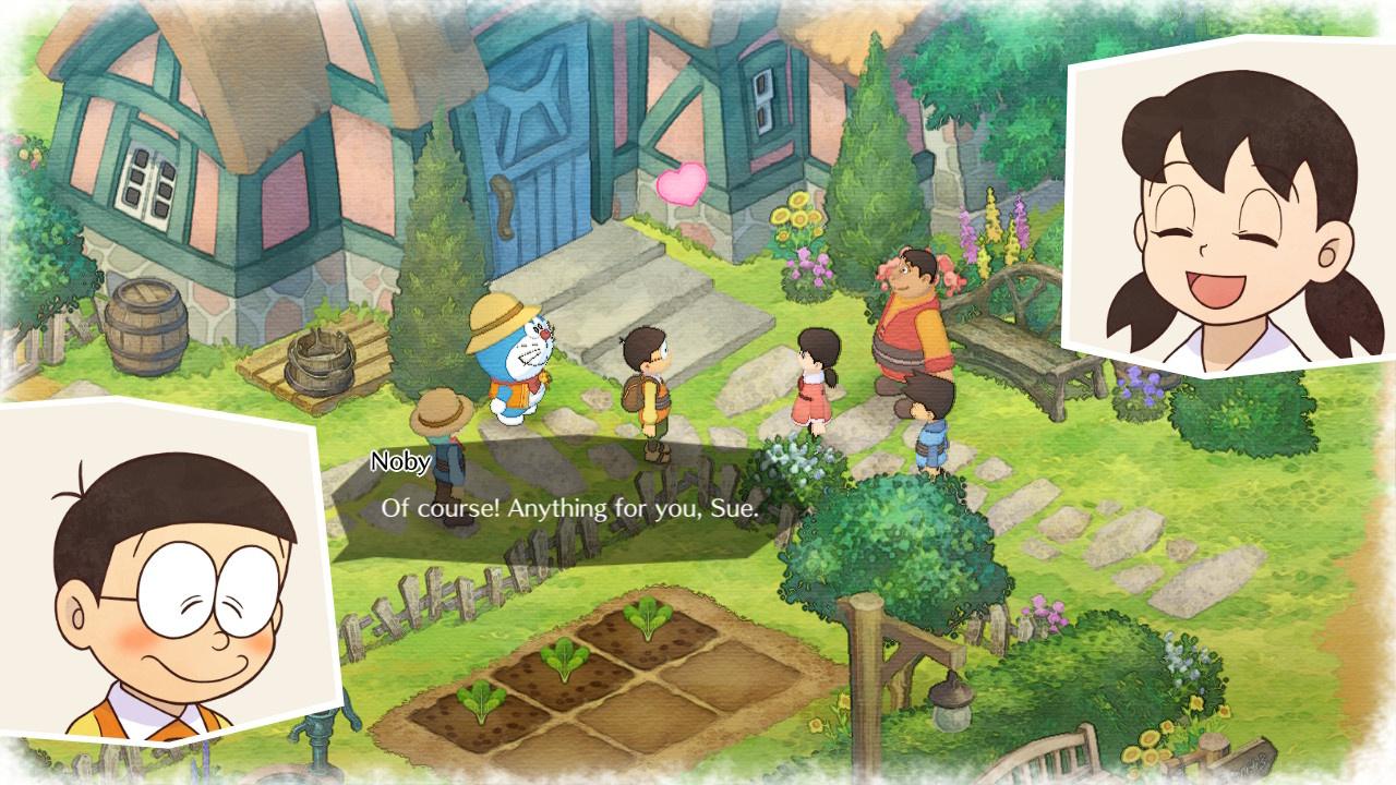 Doraemon Story of Seasons  PS4 дополнительное изображение 3