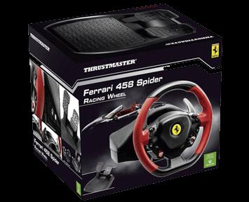 Руль Thrustmaster Ferrari 458 Spider (Xbox One/Series X)