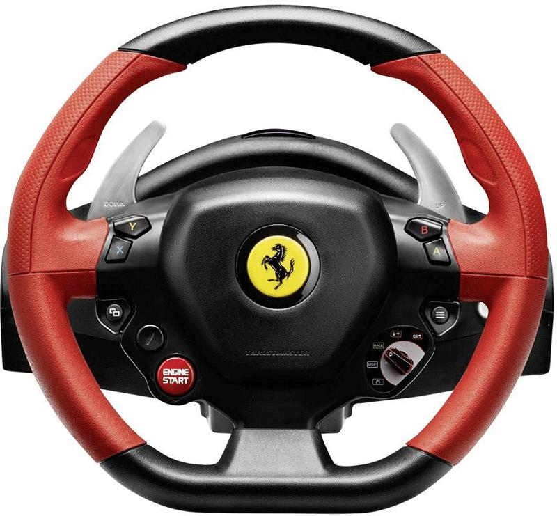 Руль Thrustmaster Ferrari 458 Spider  Xbox One/Series X дополнительное изображение 2