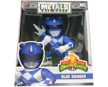 Metals Power Rangers Classic Figure - Blue Ranger – 10 см.