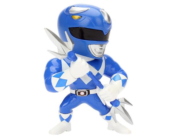 Metals Power Rangers Classic Figure - Blue Ranger – 10 см. дополнительное изображение 1