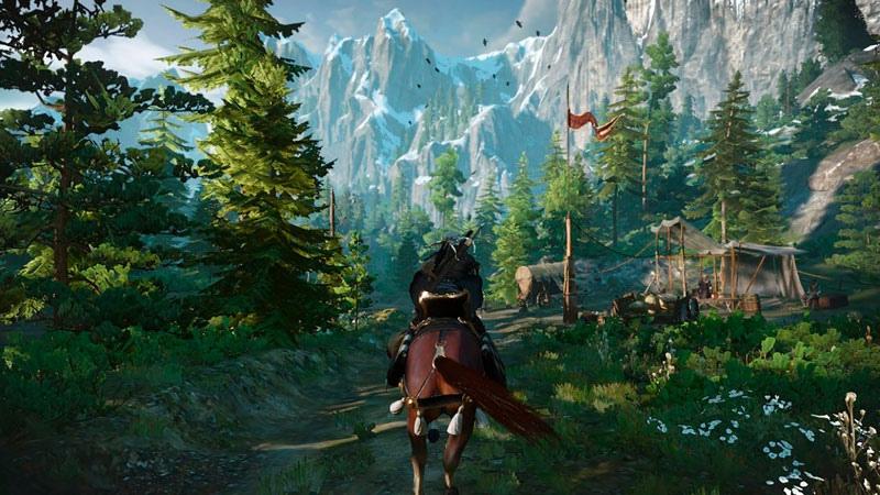 Witcher 3 Wild Hunt Ведьмак 3 Дикая охота Полное Издание  Nintendo Switch дополнительное изображение 2