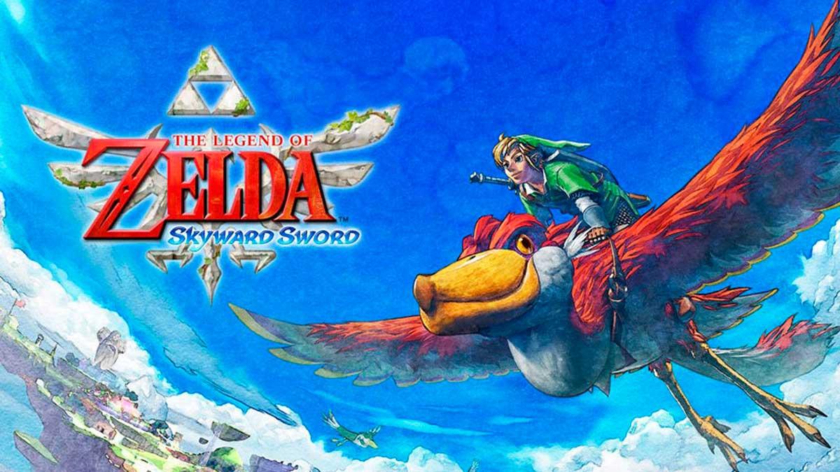 История появления Высшего меча в The Legend of Zelda: Skyward Sword HD для Nintendo Switch!
