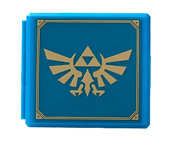 Premium Game Card Case Zelda Hylian Crest (Nintendo Switch)