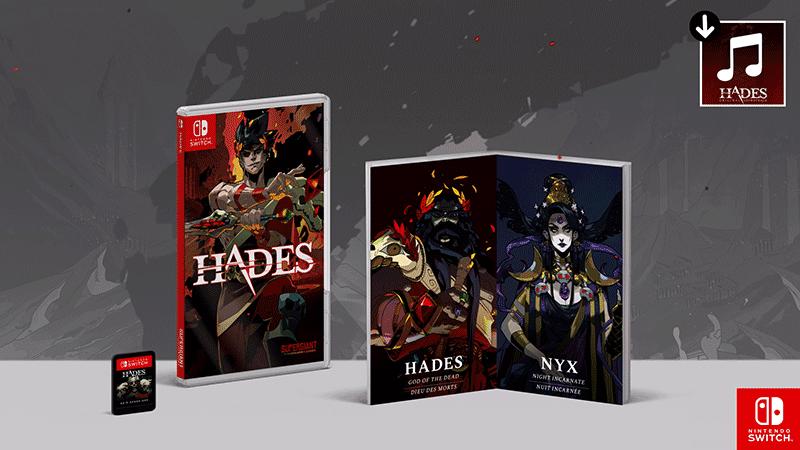 Hades Collectors Edition  Nintendo Switch дополнительное изображение 1