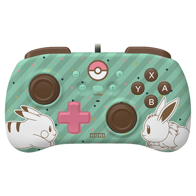 Геймпад HORIPAD Mini Pikachu & Eevee  Nintendo Switch дополнительное изображение 1