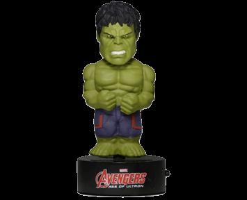 Фигурка NECA Avengers Hulk на солнечной батарее (15 см)