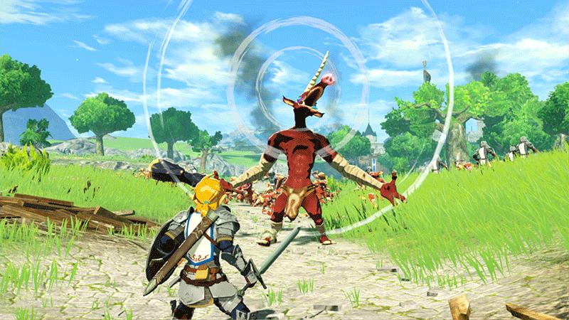 Hyrule Warriors Age of Calamity  Nintendo Switch дополнительное изображение 2