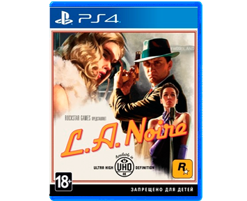 L.A. Noire (Русская версия)(PS4)(USED)(Б/У)
