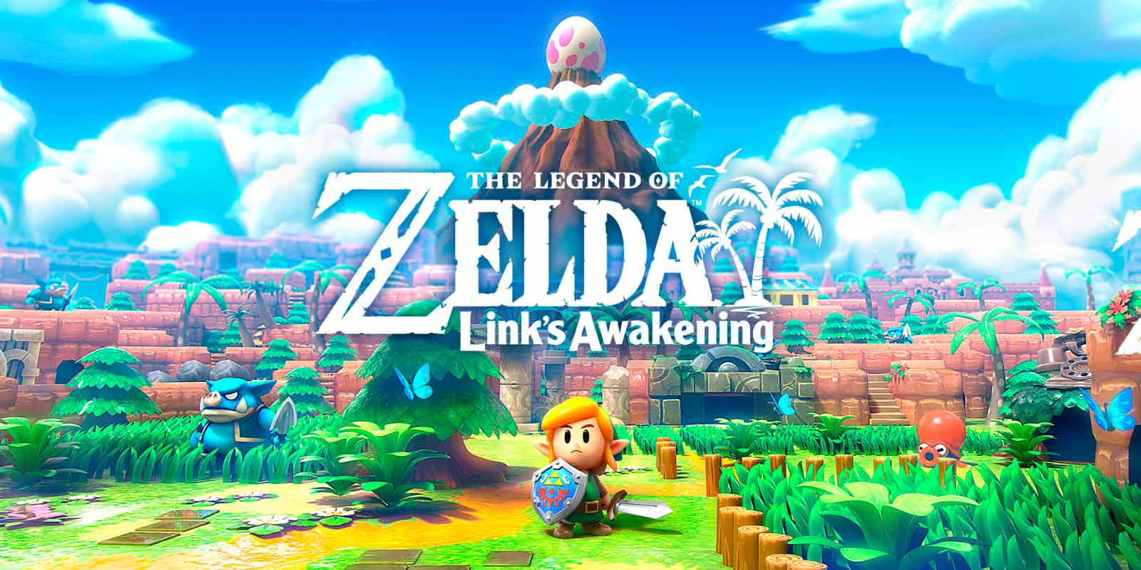 Legend of Zelda: Links Awakening (Русская версия) для Nintendo Switch !