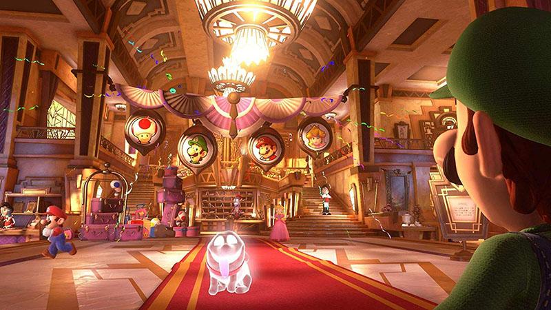 Luigi Mansion 3  Nintendo Switch дополнительное изображение 1