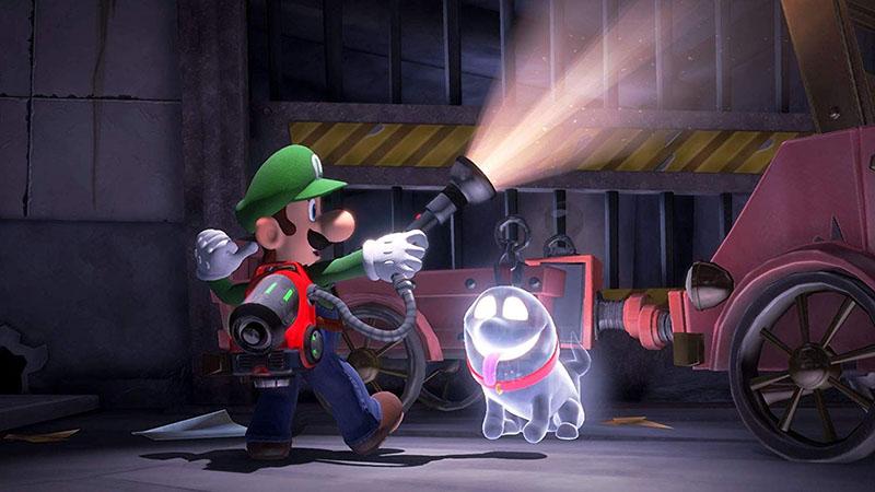 Luigi Mansion 3  Nintendo Switch дополнительное изображение 2