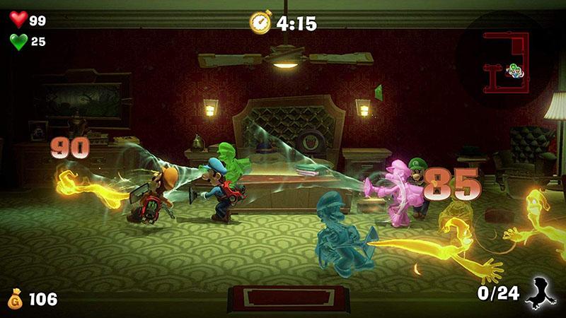 Luigi Mansion 3  Nintendo Switch дополнительное изображение 3