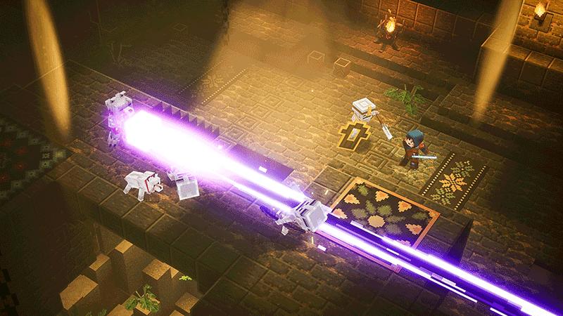Minecraft Dungeons Hero Edition  Nintendo switch дополнительное изображение 1