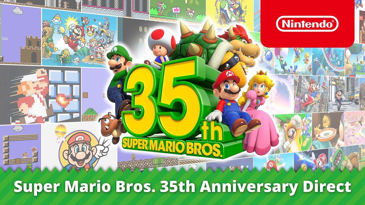 NINTENDO представляет игры, продукты  и мероприятия, посвященные 35-летию SUPER MARIO BROS.