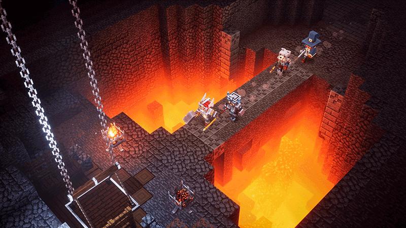 Minecraft Dungeons Hero Edition  Nintendo switch дополнительное изображение 2